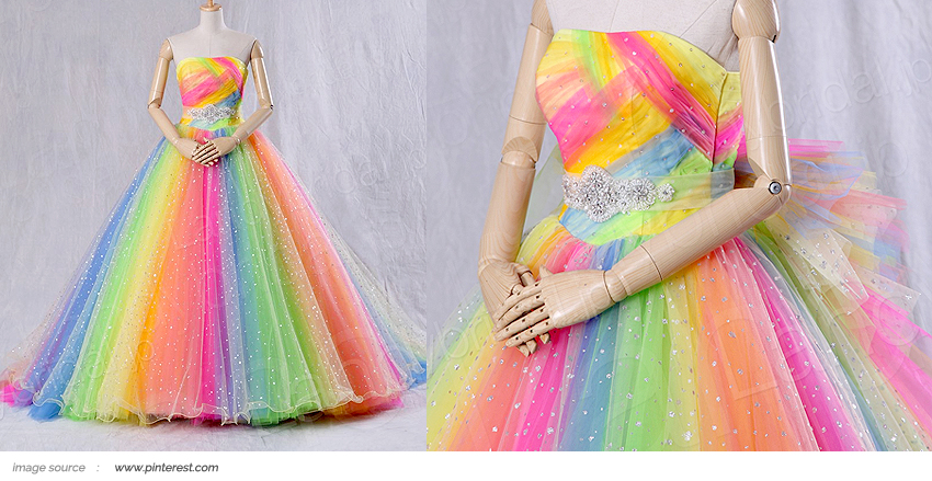 Sub Article 2017 _ Rainbow Gown 3